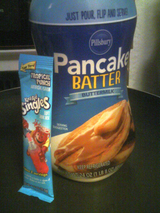 Picture of Kool-Aid Pancake Snacks - No Syrup Required!