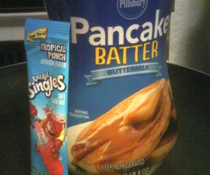 Kool-Aid Pancake Snacks - No Syrup Required!
