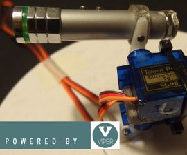 Simple, Cheap and Multiplatform Robotic Arm - Powered by Viper