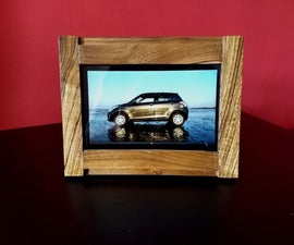 How to Turn Your Old Kindle Fire Tablet to a Wooden Digital Photo Frame