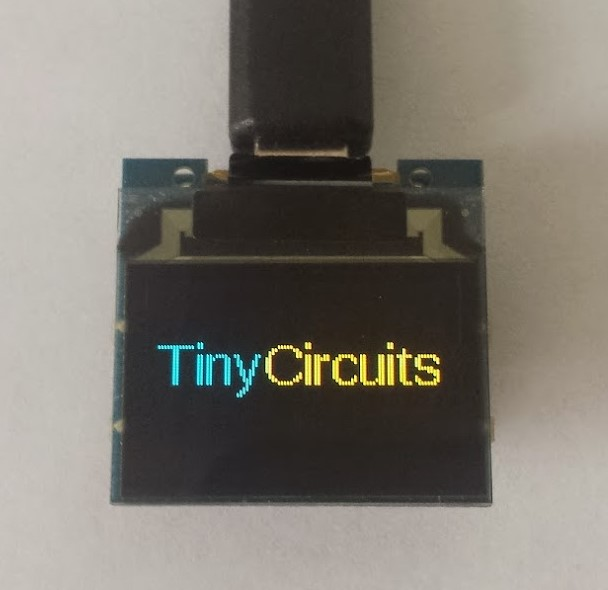 Picture of Programming the TinyScreen