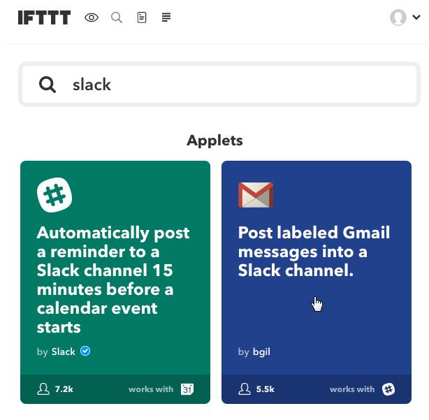 Picture of Configure IFTTT Applet