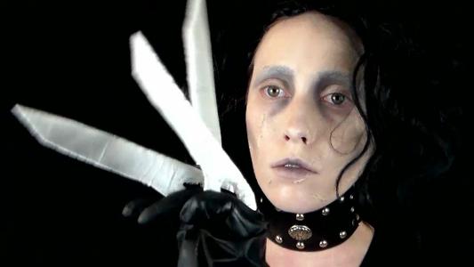 Edward Scissorhands Makeup Tutorial