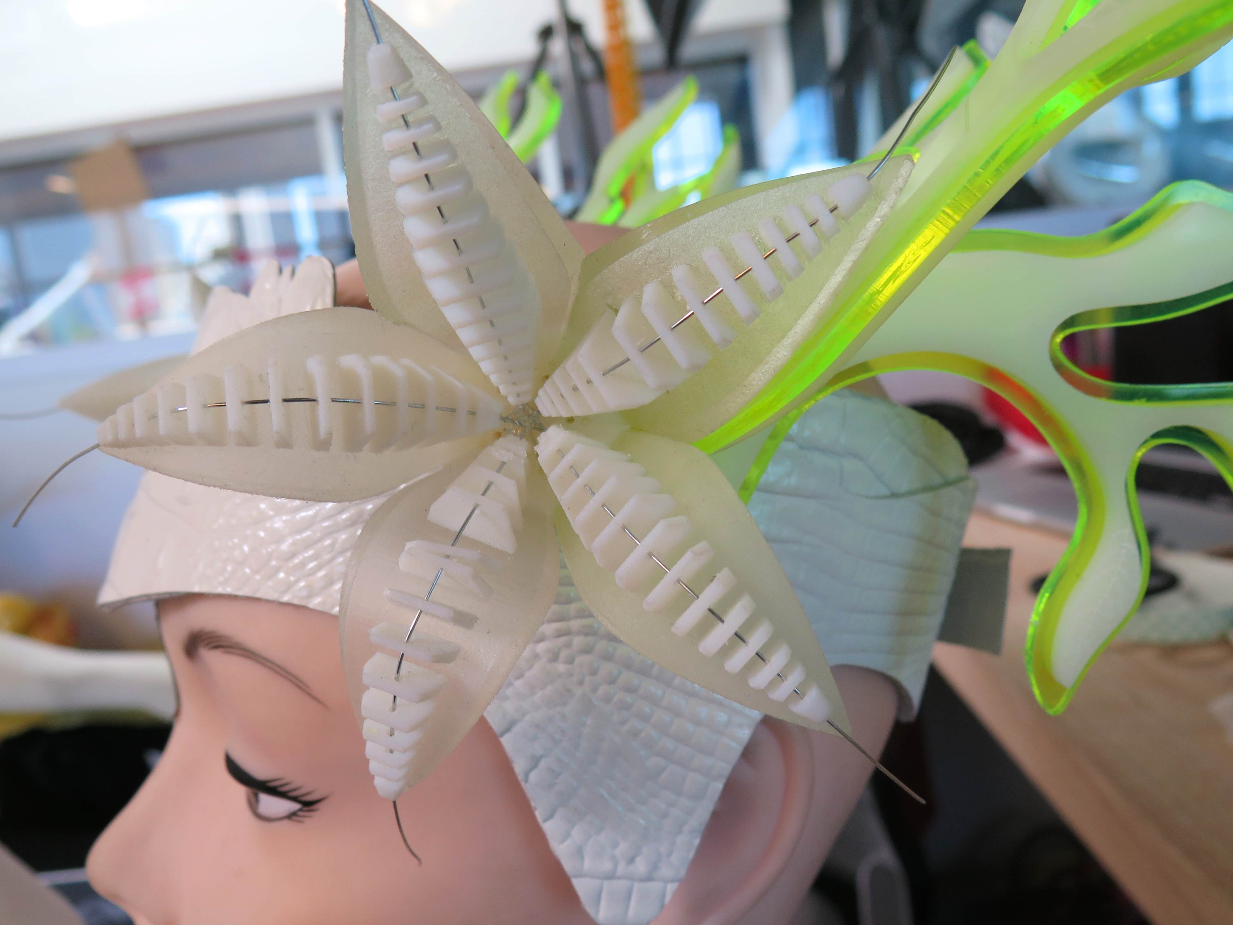 Picture of Making the Headdress
