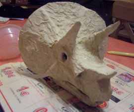 My Own Triceratops' Skull