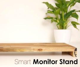 DIY Smart MONITOR STAND