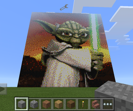 Photos From Phone to Minecraft
