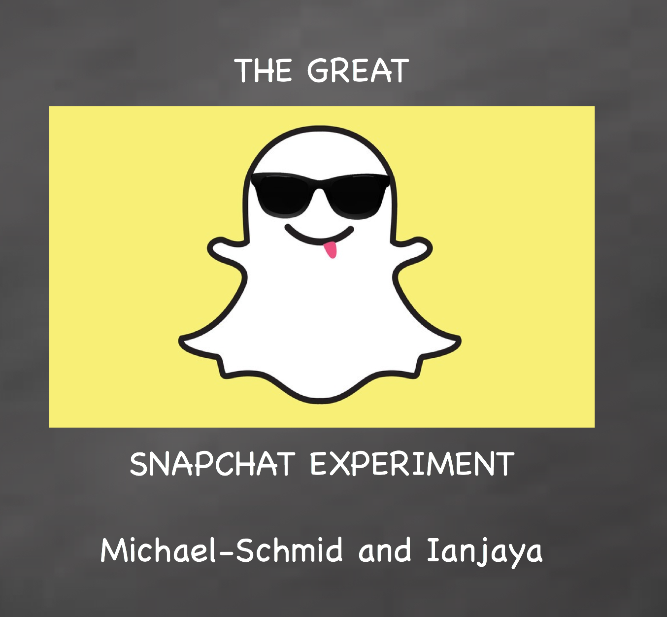 Picture of The Great 'Snapchat' Experiment