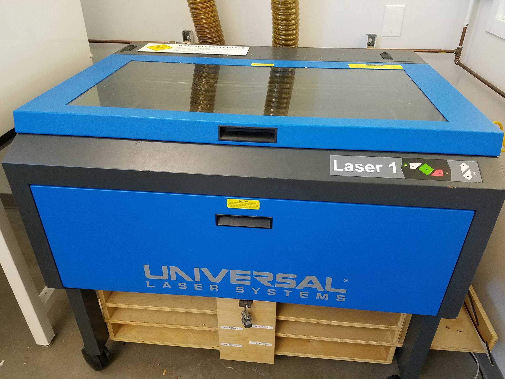 Picture of Laser Cutting the Pieces