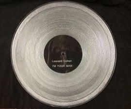 Laser Cut Record (Universal Laser)