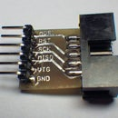 AVR ISP breadboard adapter