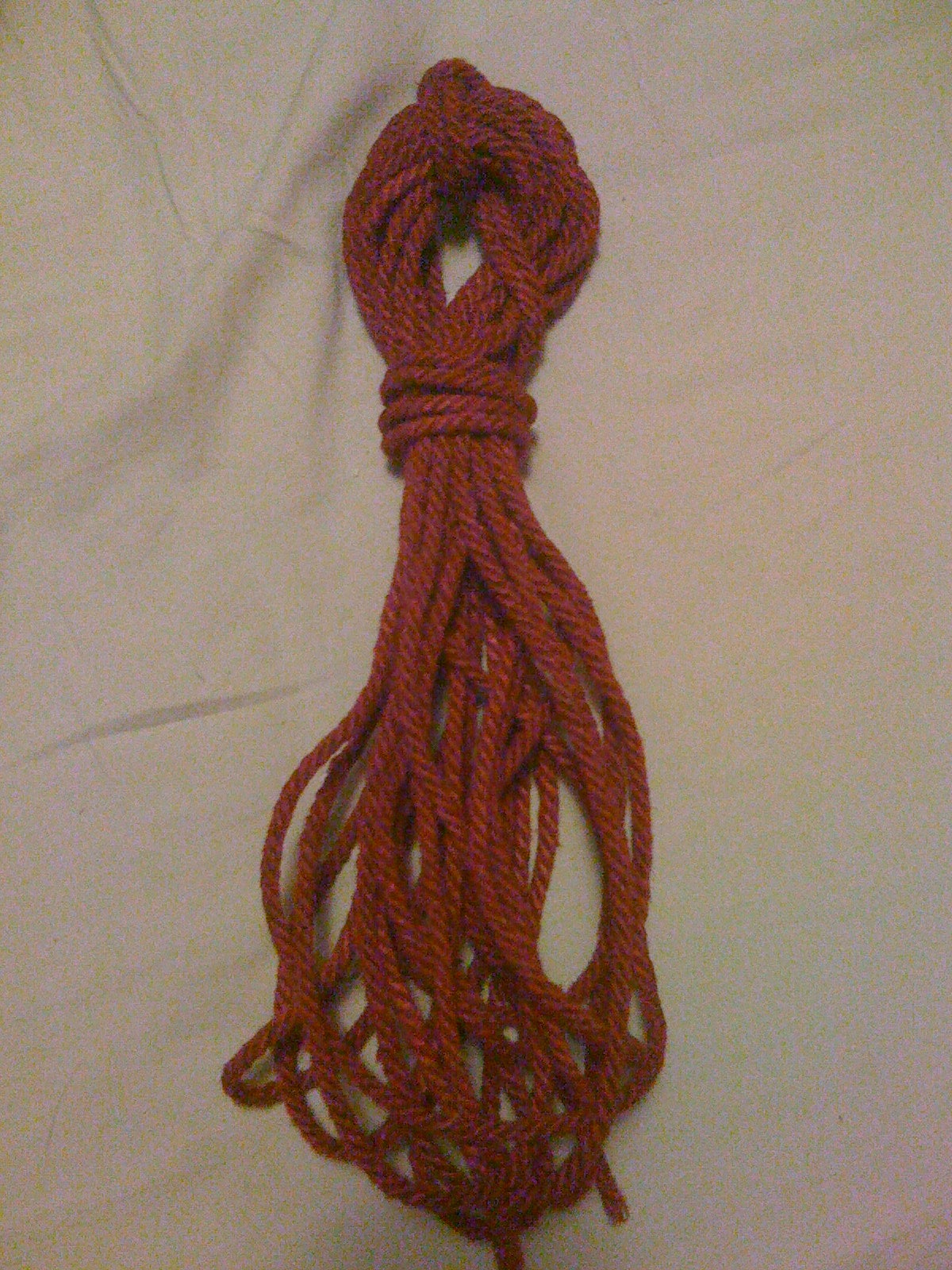 Condition and Dye Your Own Hemp Rope