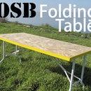 OSB Folding Table