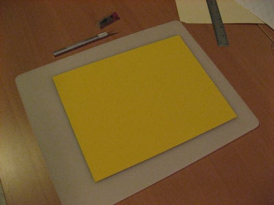 Glue Foam Sheets to Magnetic Sheets