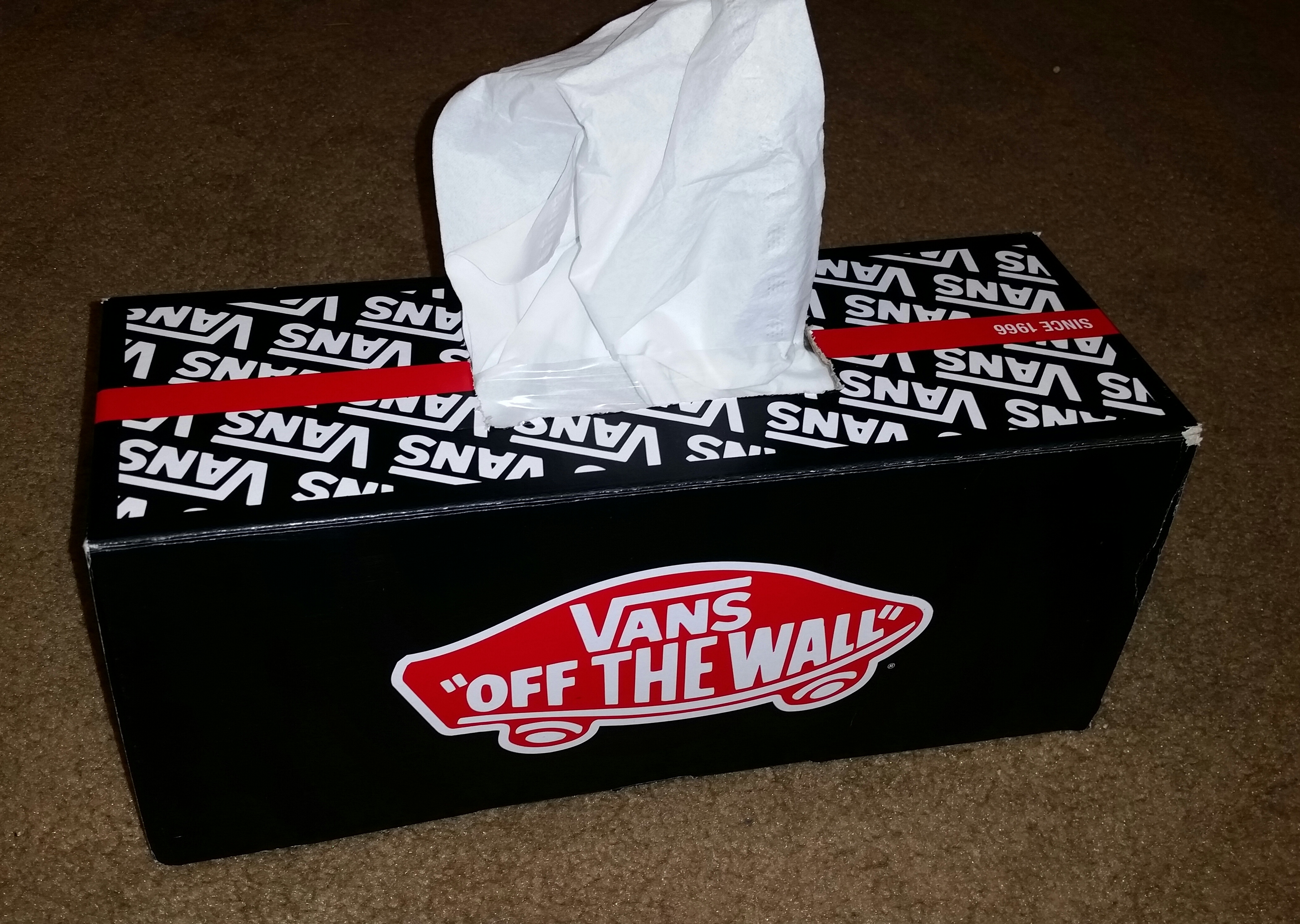 Picture of Tissue Shoe Box