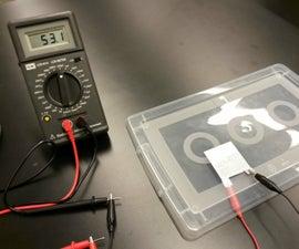 Metal Foil Tape Parallel-Plate Capacitor