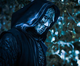 Death Eater Cosplay With 3D Printed Details
