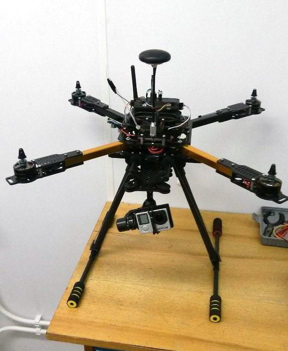 Picture of Adding HML650 Retractable Landing Gear to HK X650F Quadcopter