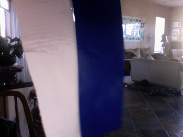 Picture of Cutting and Measuring the Duct Tape