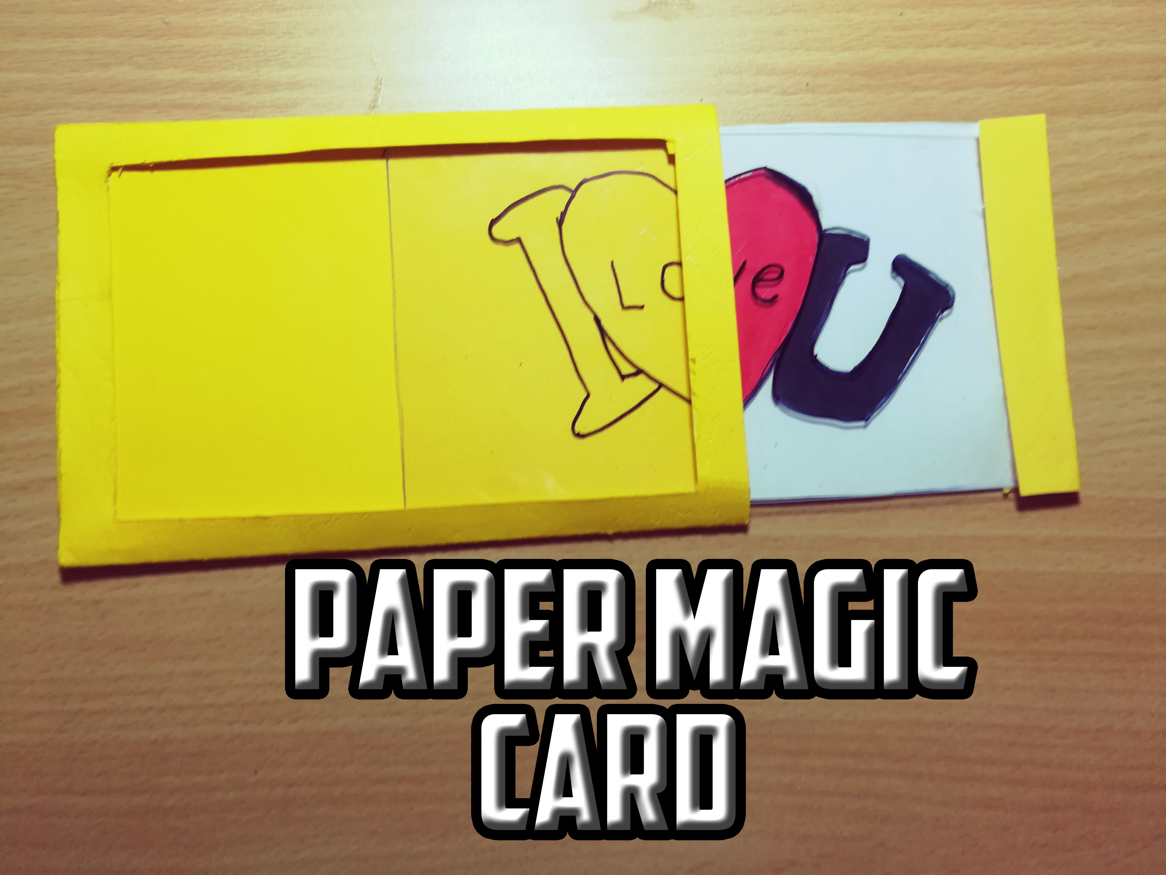 Picture of DIY Paper Magic Card