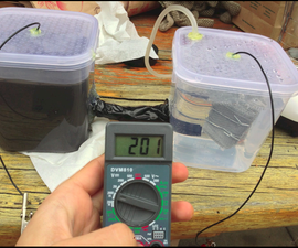 DIY Microbial Fuel Cell! EASY!
