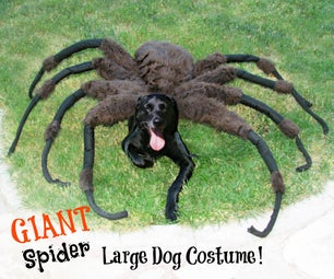 Giant Spider Dog Costume!