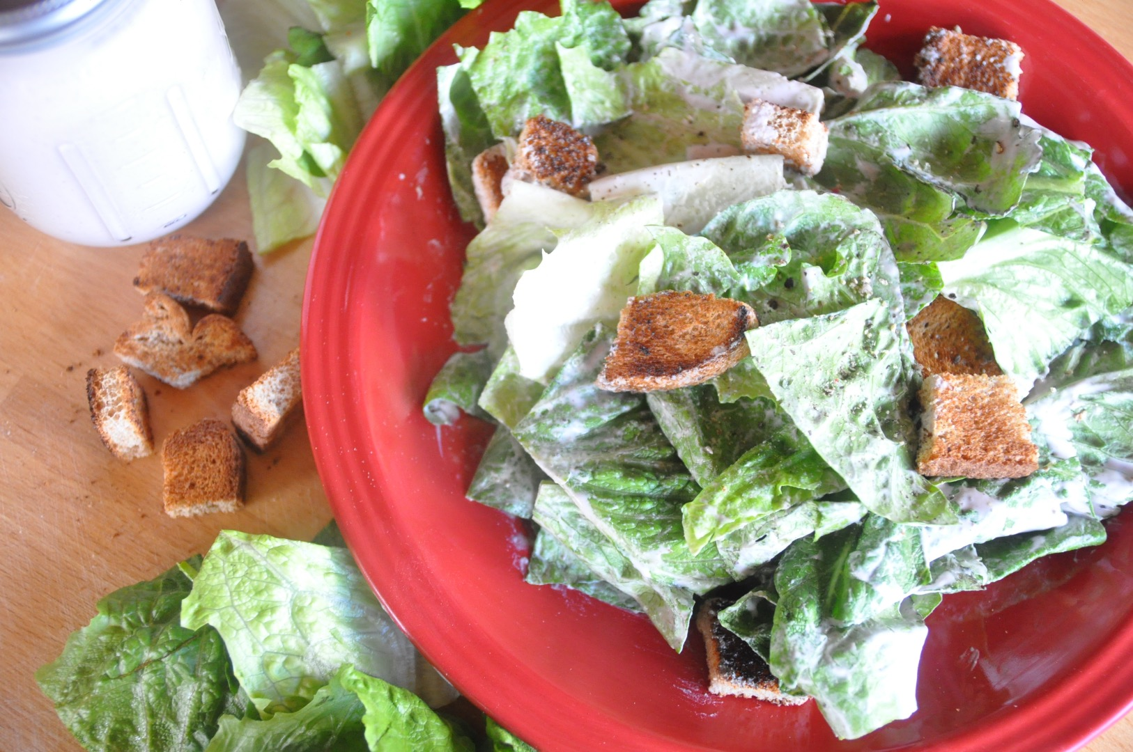 Picture of How to Make Vegan Caesar Salad