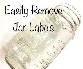Easily Remove Jar Labels