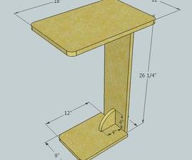 Sofa Table - Kreg Jig Project