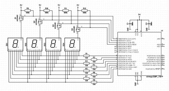 Multiplexing I - Circuit