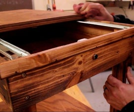 How to Make a Hidden Coffee Table