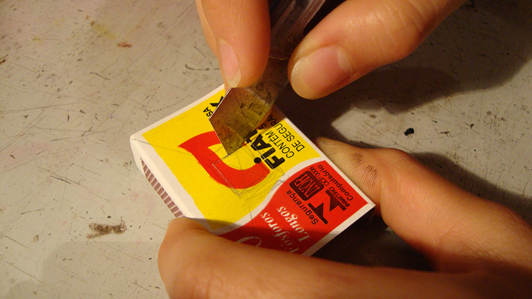 Picture of Peparing the Matchbox