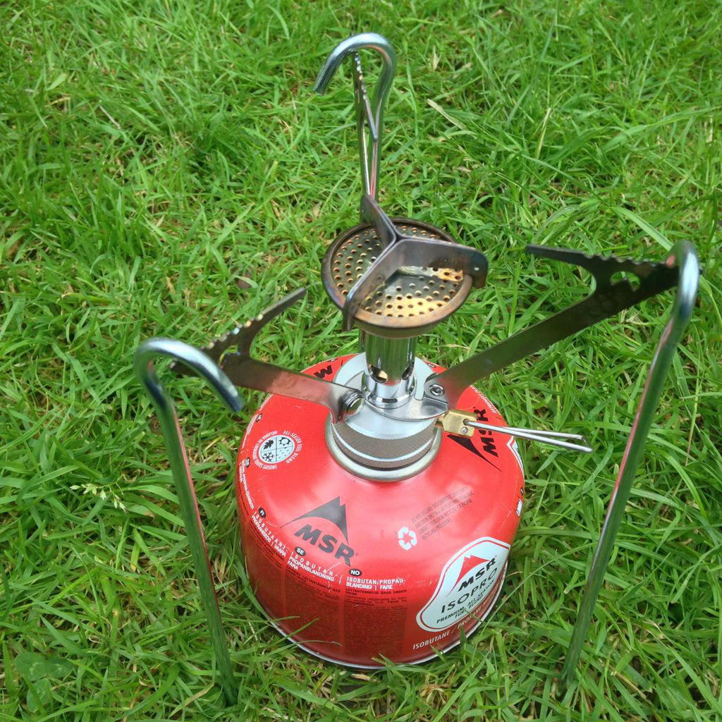 Picture of Gas Stove Hack, Pot Stand From Tent Pegs