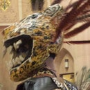 Tape-Mâché Jaguar Mask (Aztec)