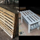 Coffee Table - Single Pallet