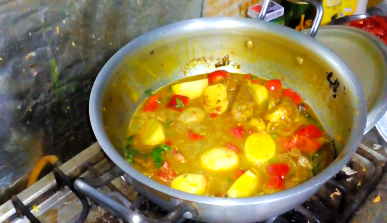 Picture of Preparing the Curry