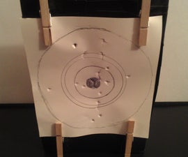 Cereal Box Airsoft Target Trap
