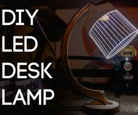 DIY Flat Pack LED Desk Lamp