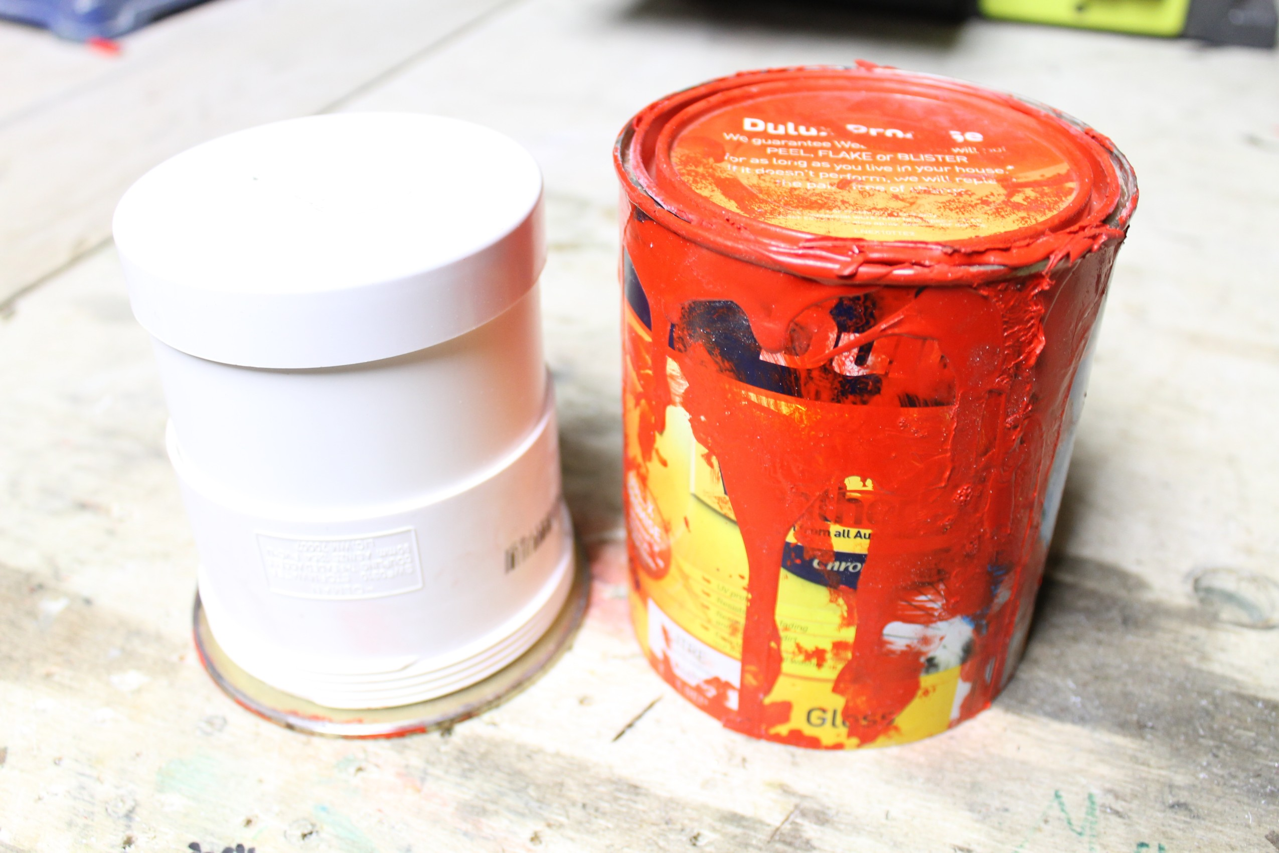 Picture of Adding Some PVC Tube for the Container