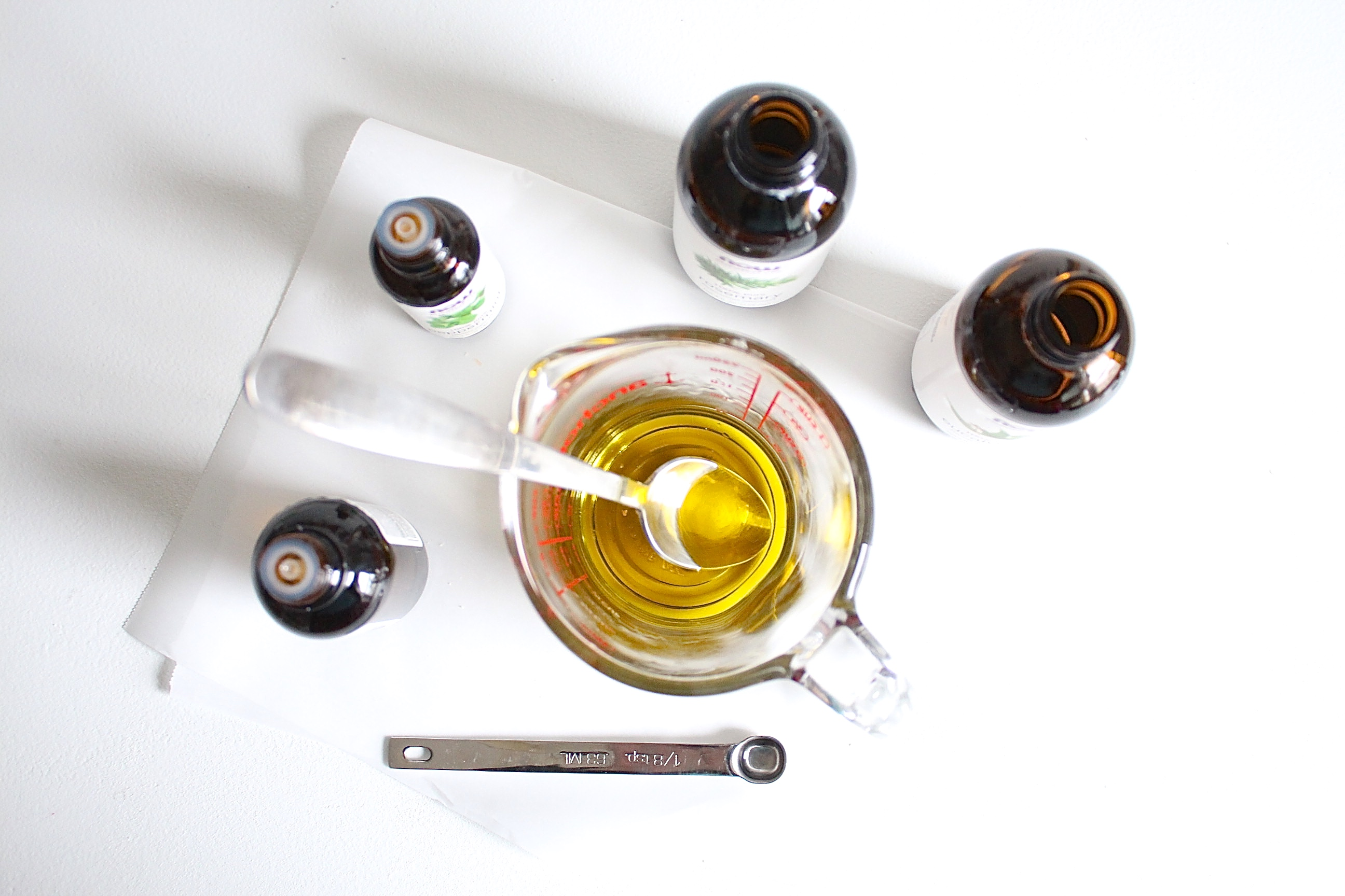 Picture of Add the Oils and Pour Into Your Container