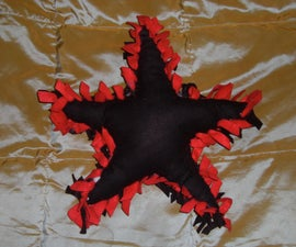 No-Sew Star Pillows for Under $5