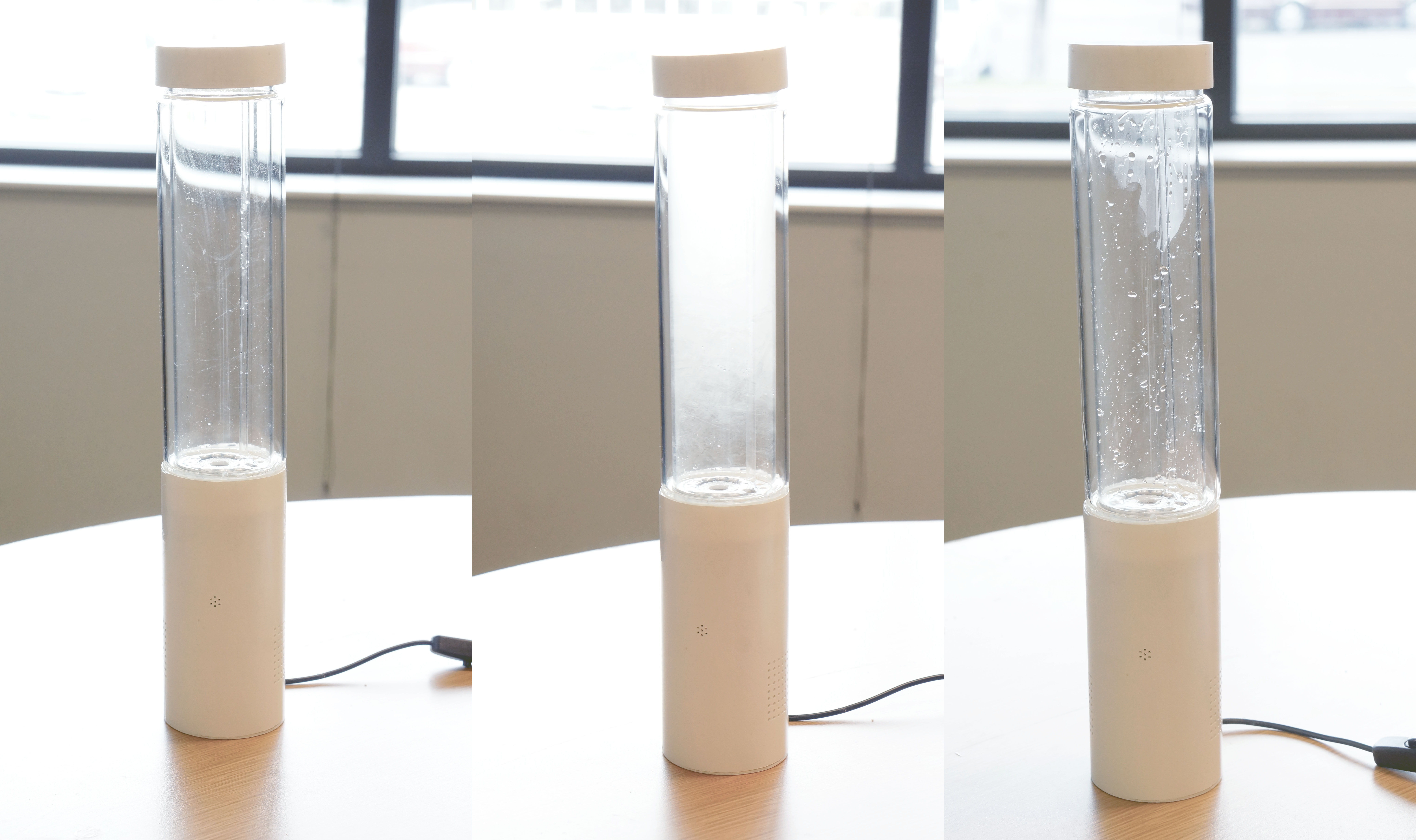Picture of Storm Glass - the Weather Forecasting Lamp That Simulates Real Weather Conditions!