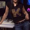 8x8 LED T-shirt