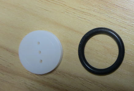 Picture of Set the Rubber Rings Into the Wheels