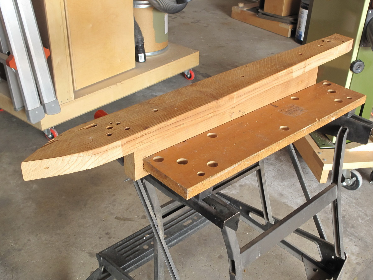 Picture of Making a Knife Board