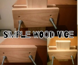 Diy Simple Wood Vice