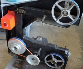 Re- Tire a 3 Wheel Bandsaw