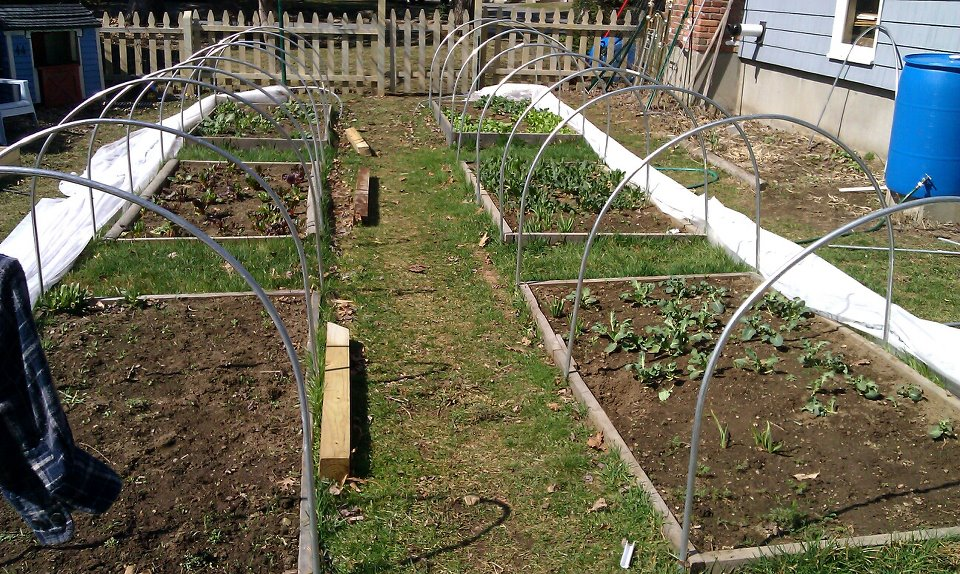 Picture of Hoop Houses- Gardening All Year Long in New England.