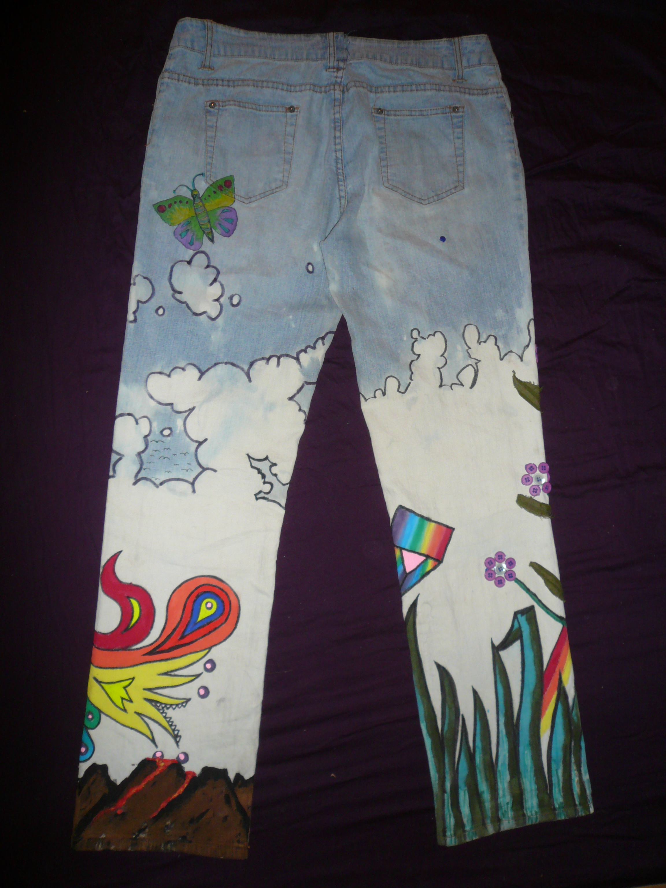 Picture of Flower Power Jeans