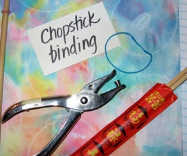 Chopstick Book Binding